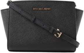 Michael Kors Medium Selma Shoulder Bag - BLACK - STYLE