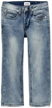 Hudson French Terry Slim Straight Jeans (Little Boys)