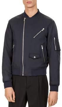 The Kooples Biker Bomber Jacket