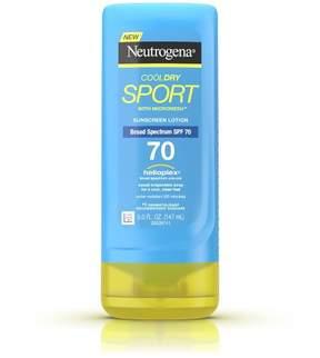 Neutrogena® CoolDry Sport Sunscreen Lotion Broad Spectrum - SPF 70 - 5oz