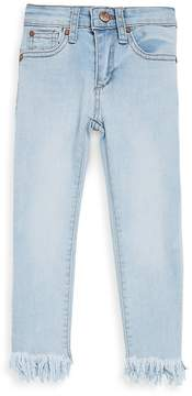 Joe's Jeans Little Girl's Frayed-Hem Jeans