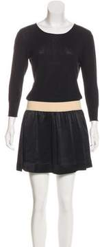 Band Of Outsiders Knit A-Line Dress