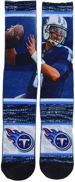 For Bare Feet Men's Marcus Mariota Tennessee Titans Rush Player Jersey Crew Socks