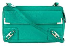 Rebecca Minkoff Grained Leather Crossbody Bag - GREEN - STYLE