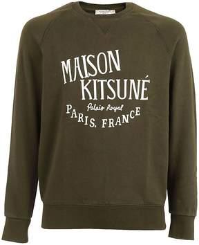 Kitsune Maison Kitsun? Logo Print Sweatshirt