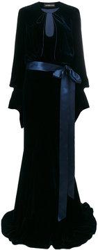 Alexandre Vauthier belted long dress