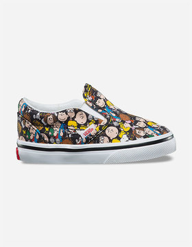 Vans x PEANUTS The Gang Classic Slip-On Toddlers Shoes