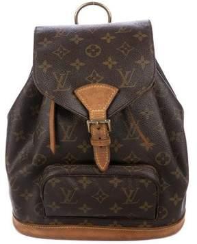 Louis Vuitton Monogram Mini-Montsouris Backpack