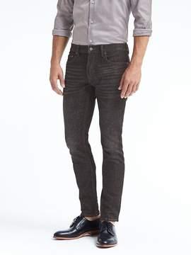 Banana Republic Skinny Black Wash Jean