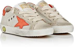 Golden Goose Deluxe Brand Kids' Superstar Suede & Mesh Sneakers
