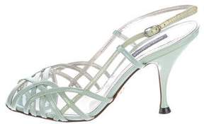 Dolce & Gabbana Patent Leather Sandals