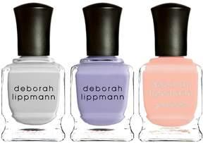 Deborah Lippmann Chasing Pavements, Lilac Wine, Peaches and Cream
