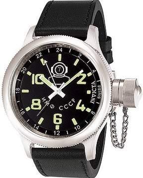 Invicta Men's Russian Diver GMT 7002 Black/Black