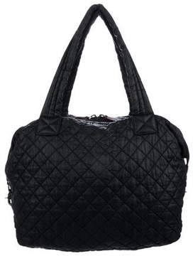 MZ Wallace Quilted Nylon Satchel