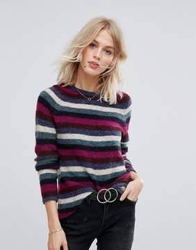 Esprit Multi COLORED Stripe Sweater