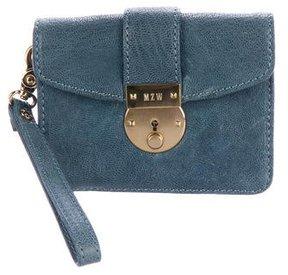 MZ Wallace Leather Flap Mini Crossbody Bag
