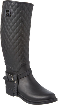 dav Women's Galway Quilted Rain Boot