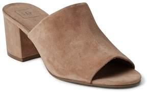 Gap Open-Toe Block Heel Mules