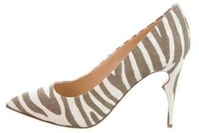 Jerome C. Rousseau Pearl Printed Pumps