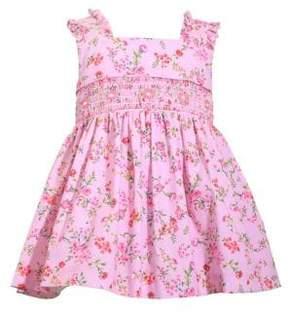 Iris & Ivy Baby Girl's Smocking Printed Cotton Dress