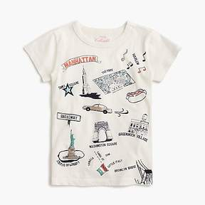 J.Crew Girls' Manhattan destination art T-shirt