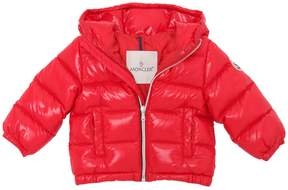 Moncler Aubert Hooded Nylon Down Jacket