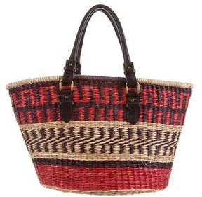 Isabel Marant Patcha Straw Bag
