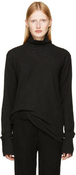 Ann Demeulemeester Black Toulouse Turtleneck