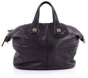Givenchy Pre-owned: Nightingale Satchel Glazed Leather Medium.