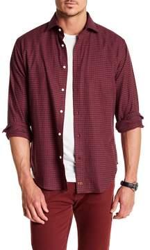 Thomas Dean Checkered Long Sleeve Shirt