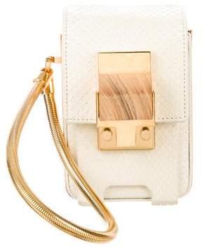 Lanvin Snakeskin Mini Bag