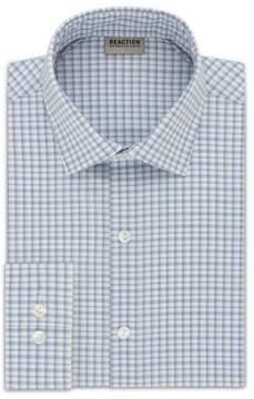 Kenneth Cole New York Reaction Kenneth Cole Slim-Fit Dress Shirt - Men's - Blue Multi