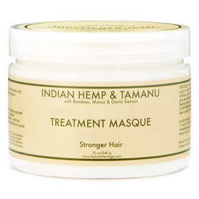 Nubian Heritage Indian Hemp + Tamanu Deep Treatment Masque by 12oz Mask)