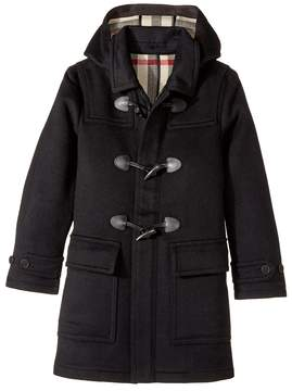 Burberry Core Wool Duffle Boy's Coat