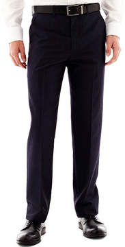 Jf J.Ferrar JF End on End Flat Front Suit Pants - Classic Fit
