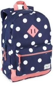 Herschel Heritage Polka-Dot Backpack