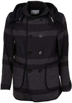 Sacai double breasted jacket