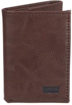 Levi's Men's Rfid-Blocking Extra-Capacity Trifold Wallet