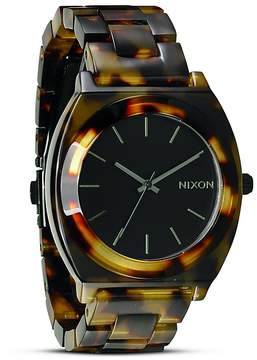 Nixon The Time Teller Acetate Watch, 40mm
