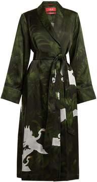 DAY Birger et Mikkelsen F.R.S - FOR RESTLESS SLEEPERS Aegle flying swan-print robe