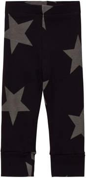Nununu Black Star Print Leggings
