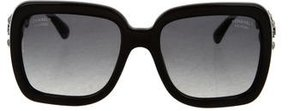 Chanel Bijou Rectangle Sunglasses w/ Tags