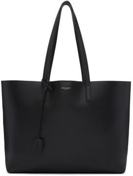 Saint Laurent Black East-West Shopping Tote - BLACK - STYLE