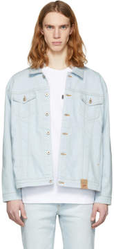 Naked & Famous Denim Denim Blue Oversized Denim Jacket
