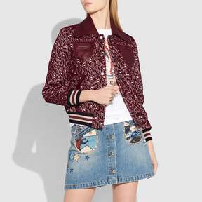 Coach New YorkCoach Signature Chain Jacquard Jacket