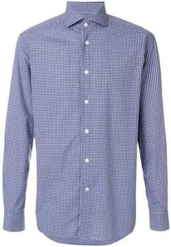 Corneliani classic checked shirt