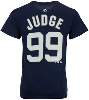 Majestic Men's Aaron Judge New York Yankees Official Player T-Shirt