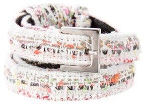 Carolina Herrera Tweed Waist Belt