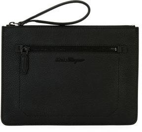 Salvatore Ferragamo Medium Leather Portfolio Case