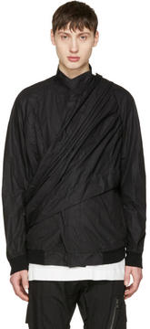 Julius Black Wrap Jacket